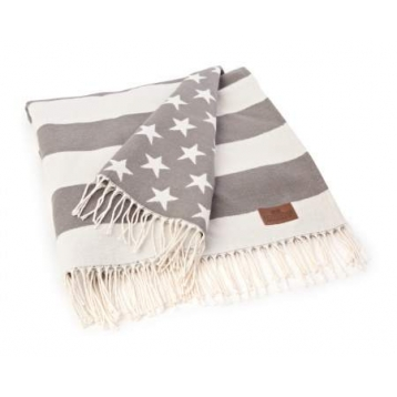Flassada Gris Lexington Flag Throw
