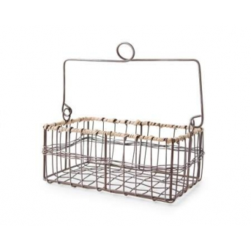 Cistella amb Manec Lexington Wire Basket