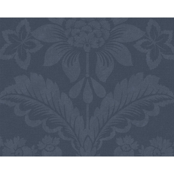 Paper Pintat Flors Blau Harriet Lexington Company