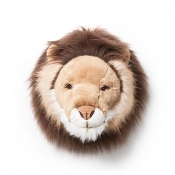 Cabeza de peluche Wild & Soft León Cesar