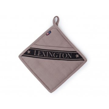 Agarrador Lexington grofre beige