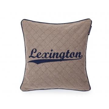 Funda de Cojin Lexington de lana gris