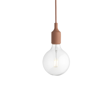 Lámpara Colgante E27 Terracota