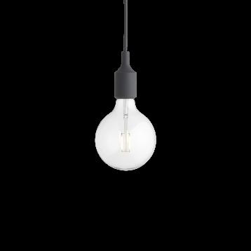 Lámpara Colgante E27 Gris Oscuro