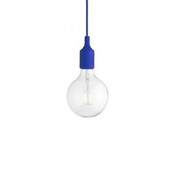 Lámpara Colgante E27 Gris Claro