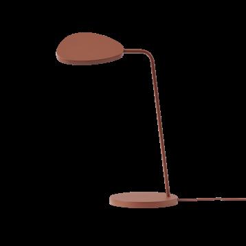 Lámpara mesa Muuto LEAF color marrón cobre