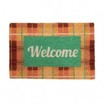 Felpudo Welcome Patron Pastel