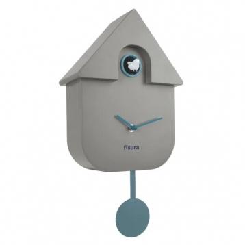 Reloj Cuco casita gris