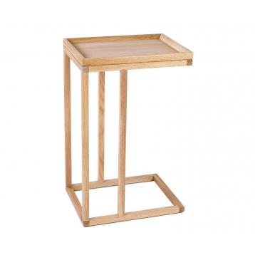 Mesa de madera de roble