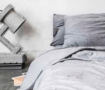 Suavidad Mik Max, ropa de cama de punto de algodón de camiseta